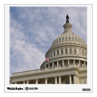 Capitol Hill Building in Washington DC Wall Decal