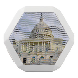 Capitol Hill Building in Washington DC White Bluetooth Speaker