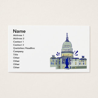 Capitol Hill Business Card