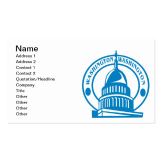 Capitol Hill Business Cards