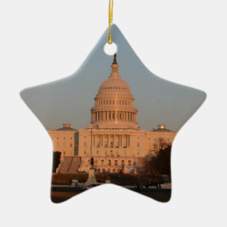 Capitol Hill Ceramic Ornament