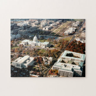 Capitol Hill DC Jigsaw Puzzle