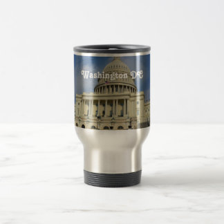 Capitol Hill en DC Taza De Viaje De Acero Inoxidable