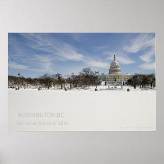 Capitol Hill, febrero de 2010 Poster