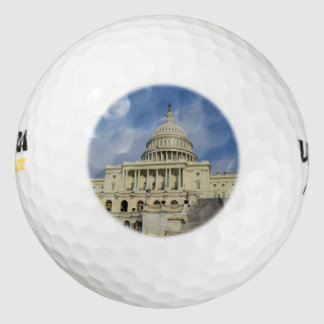 Capitol Hill in DC Pack Of Golf Balls