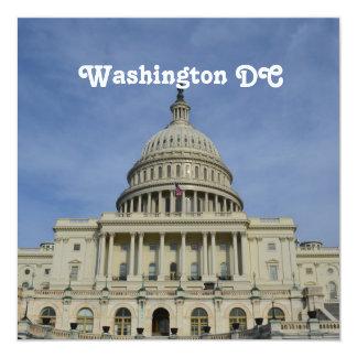 "Capitol Hill Invitación 5.25"" X 5.25"""