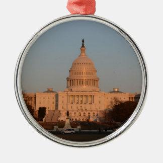 Capitol Hill Metal Ornament