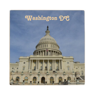 Capitol Hill Maple Wood Coaster