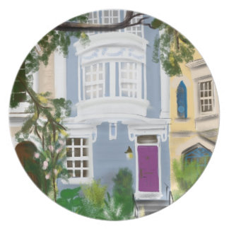 Capitol Hill Rowhouse Party Plate