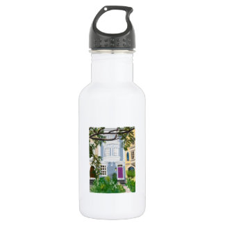 Capitol Hill Rowhouse Stainless Steel Water Bottle