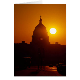 Capitol Hill Sunset Card