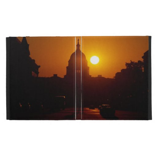Capitol Hill Sunset iPad Case