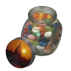 Capitol Hill Sunset Glass Jars at Zazzle
