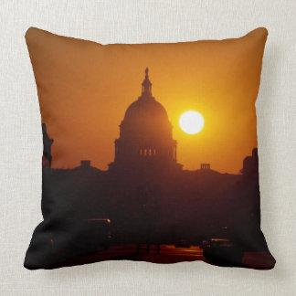 Capitol Hill Sunset Pillow