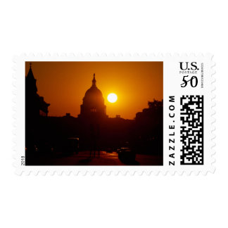 Capitol Hill Sunset Postage