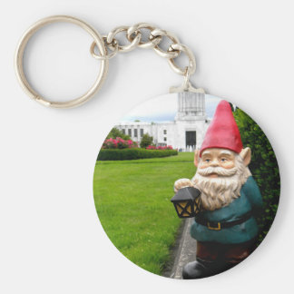 Capitol Lawn Gnome Keychain
