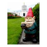 Capitol Lawn Gnome Postcard