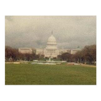Capitol Lawn-Upclose Postcard