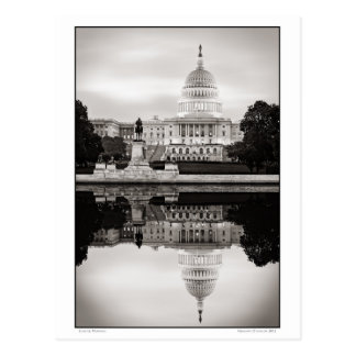 Capitol Morning Postcard