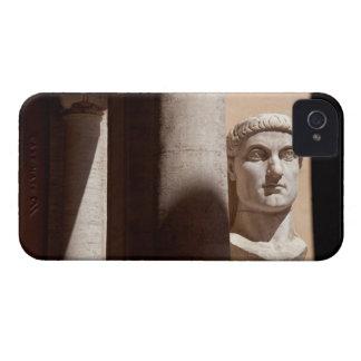 Capitol museum, bust face of emperor constantine Case-Mate iPhone 4 case