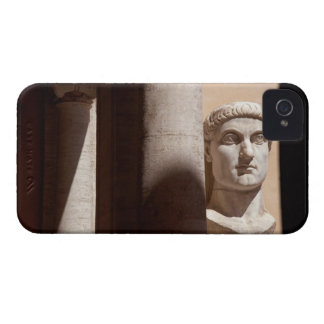 Capitol museum, bust face of emperor constantine iPhone 4 case