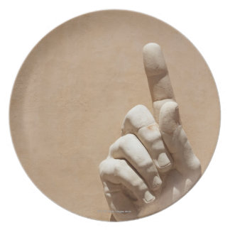 Capitol Museum, hand  from emperor constantine Party Plates