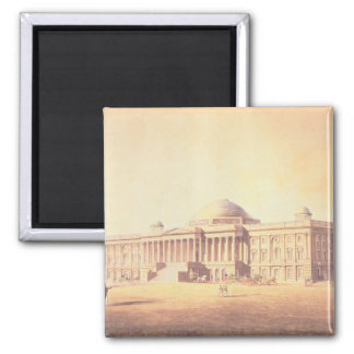 Capitol of the United States, engraved by 2 Inch Square Magnet