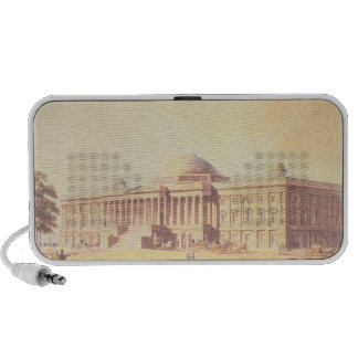 Capitol of the United States, engraved by Portable Speaker