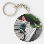Capitol Park Gnome Basic Round Button Keychain