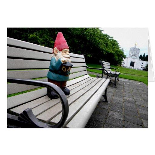 Capitol Park Gnome Card