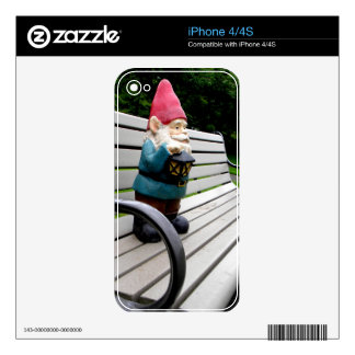 Capitol Park Gnome iPhone 4 Decal
