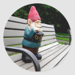Capitol Park Gnome Round Stickers