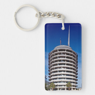 Capitol Records Hollywood Boulevard Keychain
