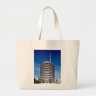 Capitol Records Hollywood Boulevard Large Tote Bag
