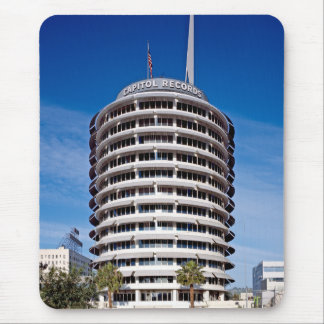 Capitol Records Hollywood Boulevard Mouse Pad