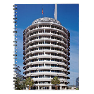 Capitol Records Tower LA Notebook