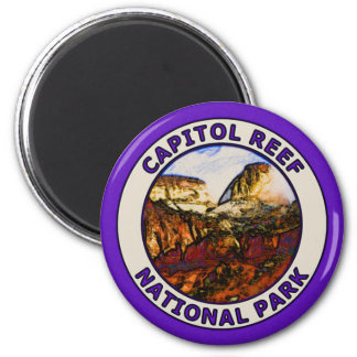 Capitol Reef National Park 2 Inch Round Magnet