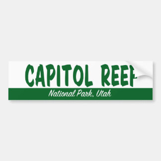 Capitol Reef National Park Bumper Sticker