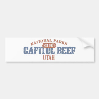 Capitol Reef National Park Car Bumper Sticker