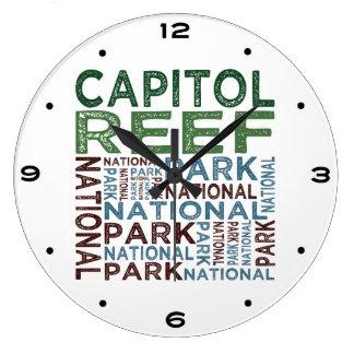 Capitol Reef National Park Large Clock