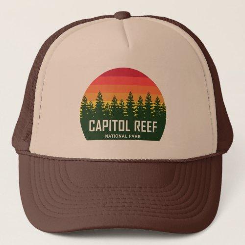 Capitol Reef National Park Trucker Hat