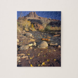 CAPITOL REEF NATIONAL PARK, UT, US, Cottonwood Jigsaw Puzzle