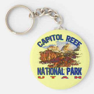 Capitol Reef National Park Utah Keychain