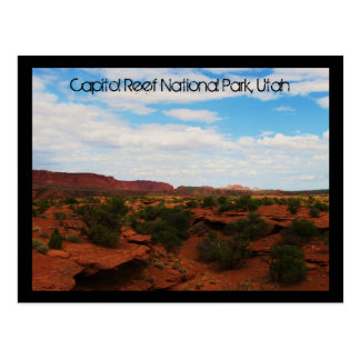 Capitol Reef National Park, Utah Post Card