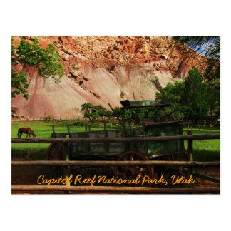 Capitol Reef National Park, Utah Postcard