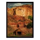 Capitol Reef National Park, Utah Postcard