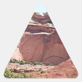 Capitol Reef National Park, Utah, USA 10 Triangle Sticker