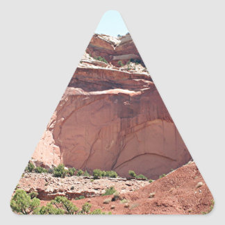 Capitol Reef National Park, Utah, USA 10 Triangle Sticker