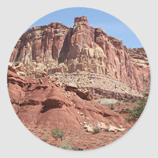 Capitol Reef National Park, Utah, USA 11 Classic Round Sticker