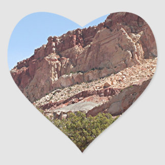 Capitol Reef National Park, Utah, USA 12 Heart Sticker